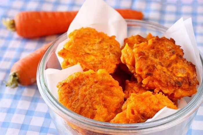 Морковное печенье с кокосовой стружкой