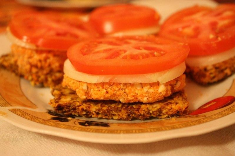 Сыроедческие сэндвичи