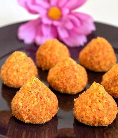 Сыроедческое «Морковно – Кокосовое» Печенье