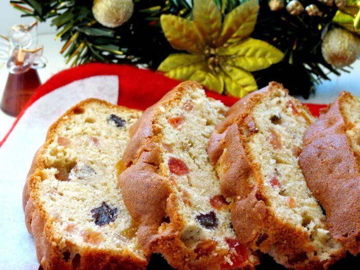 пирог с сухофруктами и орехами
