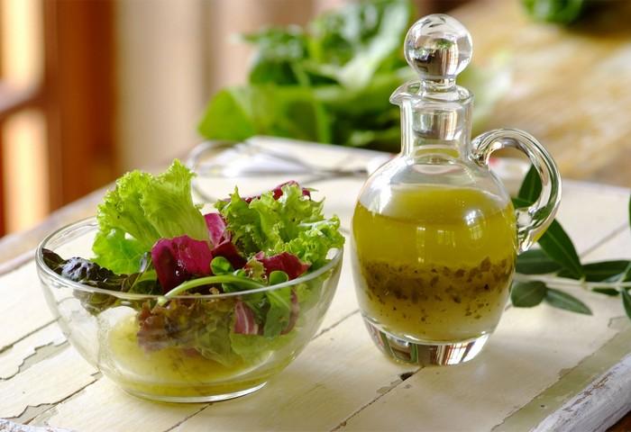 Диетические заправки для салатов
