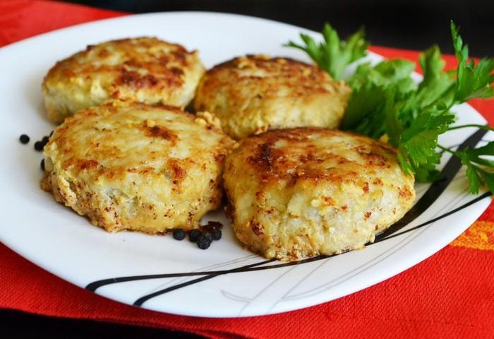 Вегетарианские рыбные котлеты без рыбы