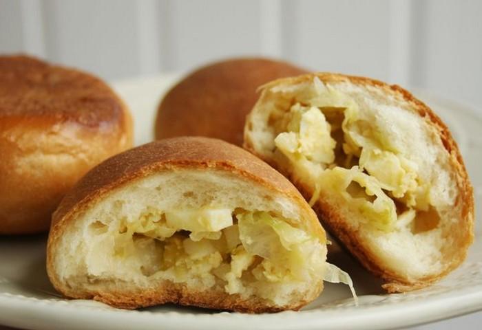 Пирожки с капустой без яиц: самый вкусный и простой рецепт