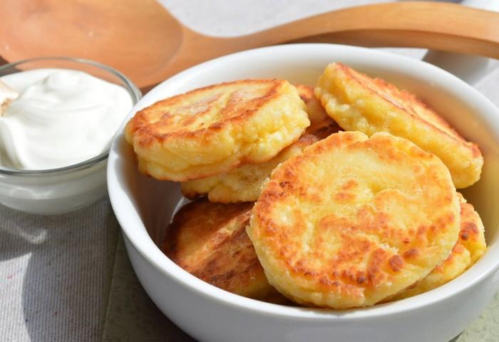 Рецепт вегетарианских сырников из творога без яиц