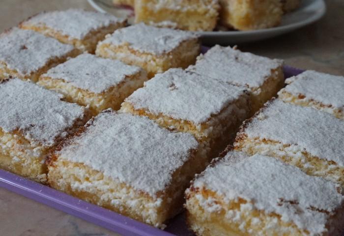 Кокосовое пирожное: вкусовой рай