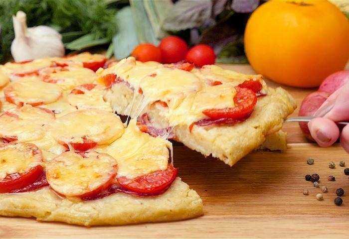 Мини пицца за пять минут