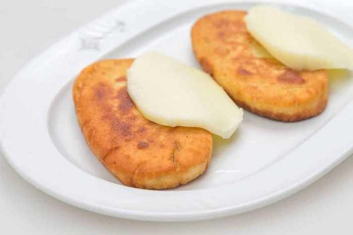 С сыром и яйцом