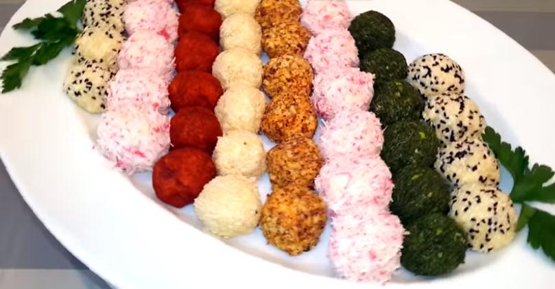 5 рецептов сырных шариков на праздничный стол