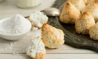 Рисовое печенье с кокосовой стружкой