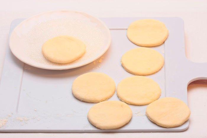 Вкусные конвертики для сладкоежек без сметаны
