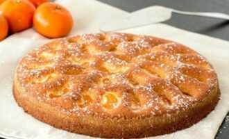 как приготовить пирог с мандаринами