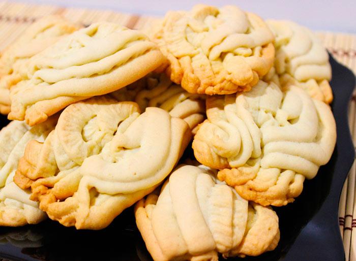 Как приготовить печенье через мясорубку фото