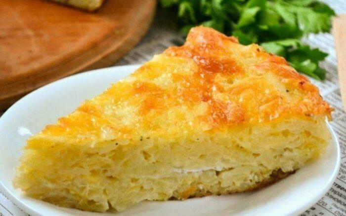 Испанская картофельно-кукурузная запеканка с сыром
