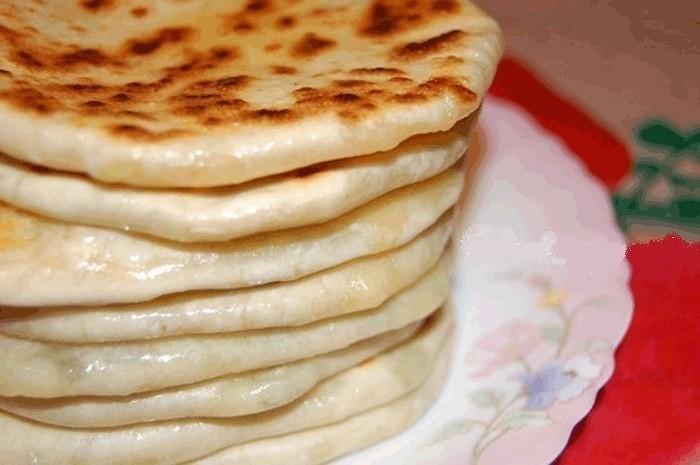Дагестанские лепешки с сыром и картошкой