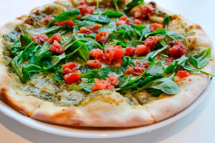 Вегетарианская пицца без яиц