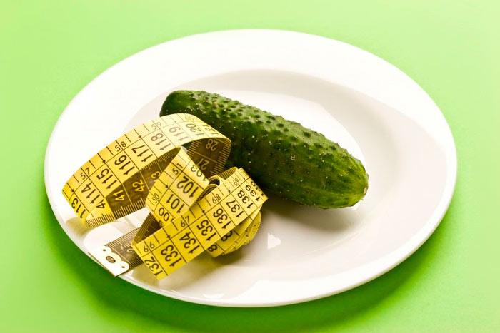 Плюсы огуречных диет