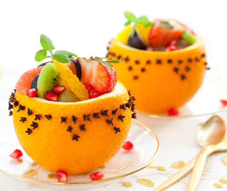 десерт - вегетарианские блюда на новый год