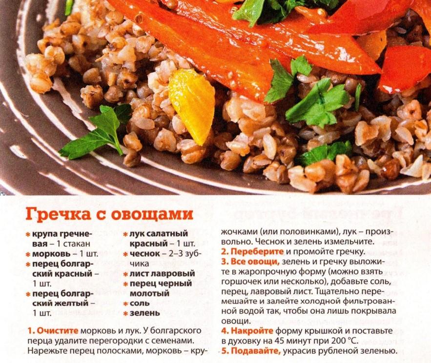 Правильная диета с гречкой