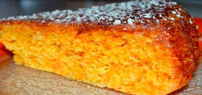 Морковный пирог с апельсинами