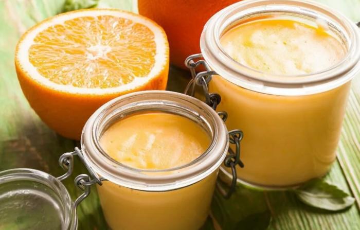 желе из апельсина