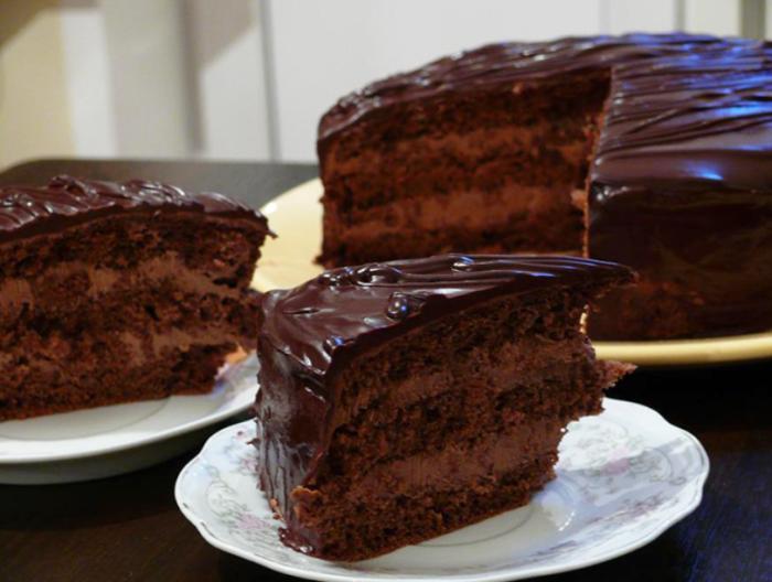 """Рецепт шоколадного торта """"Прага"""""""