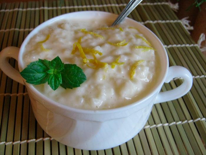 Классический рецепт молочной рисовой каши