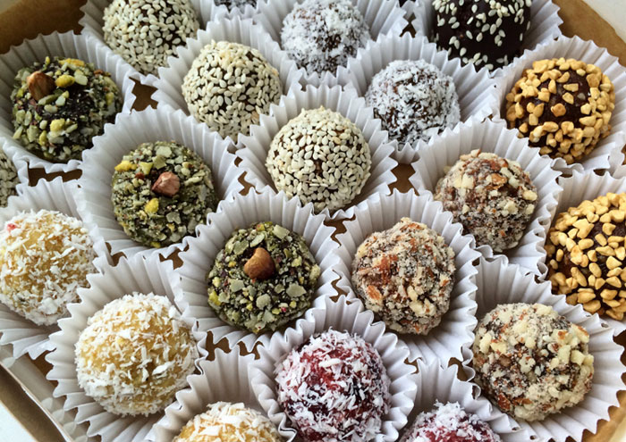 Рецепты конфет из сухофруктов и орехов