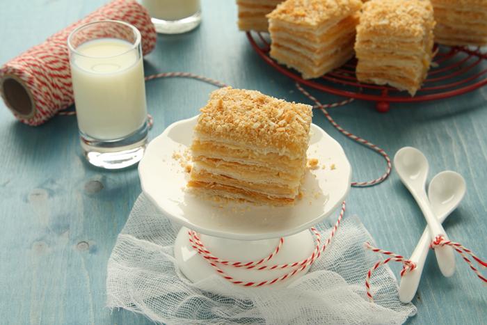 Нежный крем торта