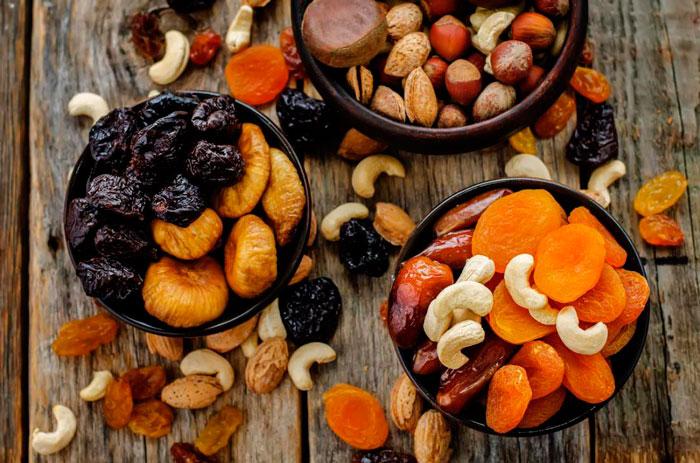Как хранить сушеные фрукты правильно