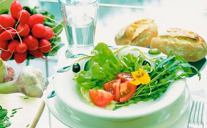 Разрешенные продукты в щелочной диете