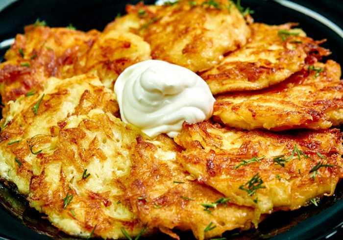 Драники из картофеля: пошаговый рецепт с фото