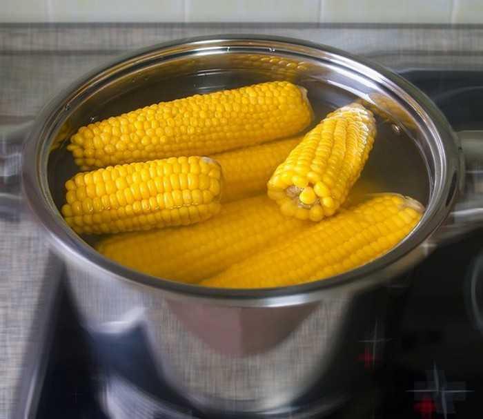 Как варить молодую кукурузу в початках