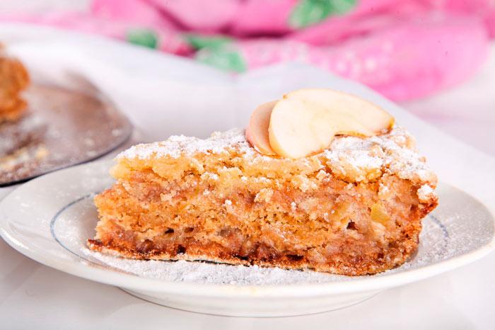 Яблочный пирог «Три стакана»