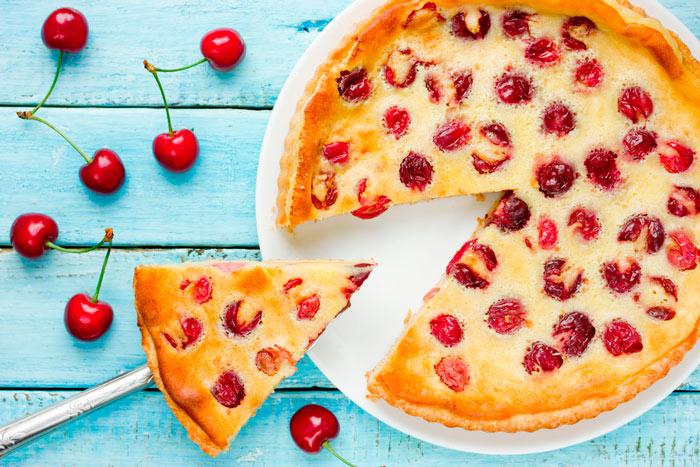 Классический рецепт пирога с вишней