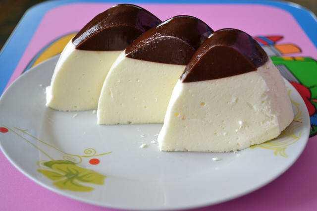 Десерт из кефира «Как пломбир»