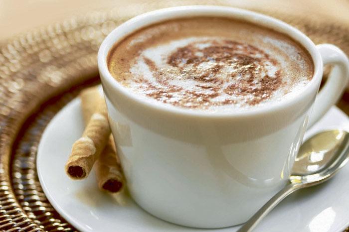 Рецепт кофе со сметаной