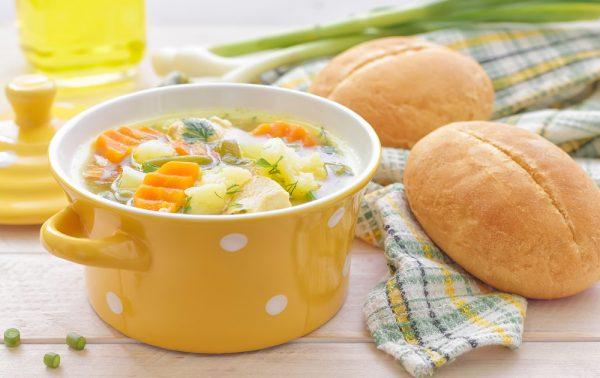 Как сварить быстро вкусный суп без мяса