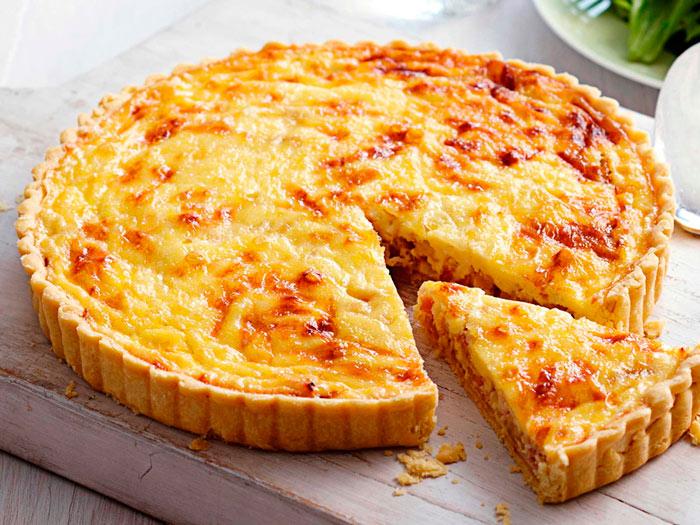 Рецепт заливного сырного пирога фото