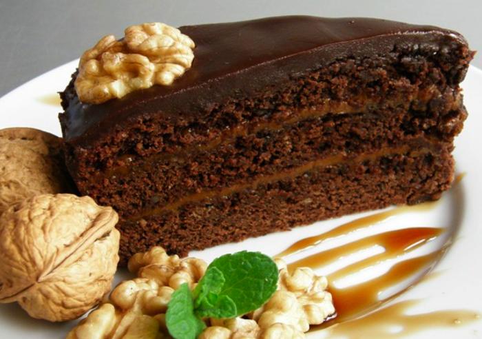 Шоколадный торт «Прага»