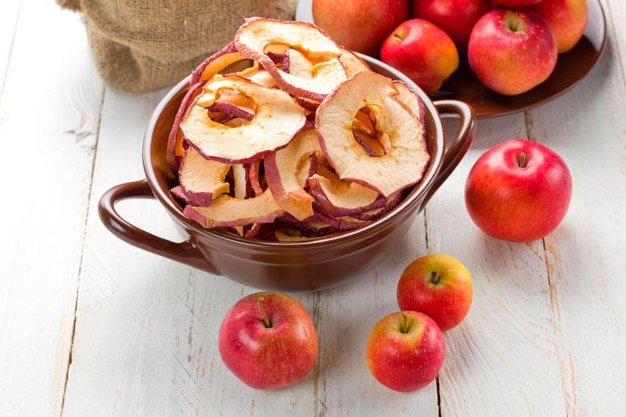 Как сушить яблоки на воздухе
