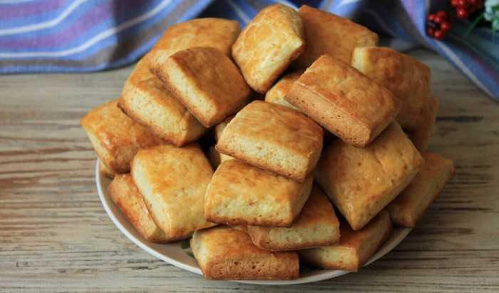 Творожное печенье с кокосовой стружкой «Кокосанка»