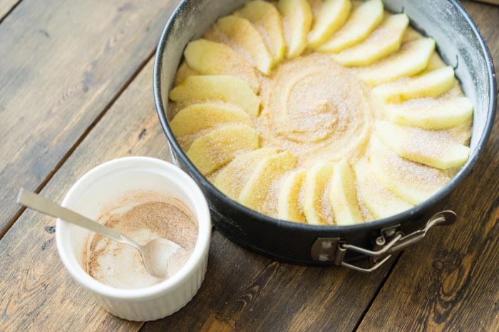 Старомодный яблочный пирогот Юлии Высоцкой