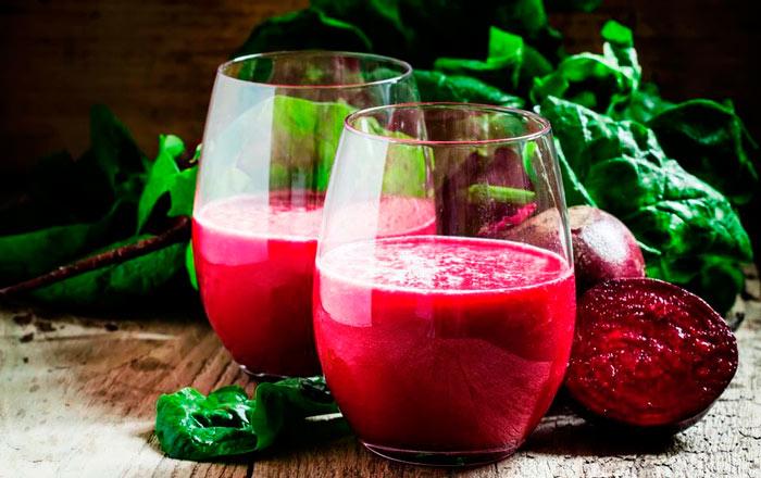 Свекольный коктейль для здоровья