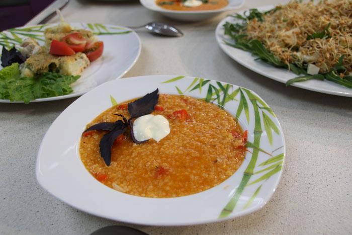 Рецепт супа с кускусом