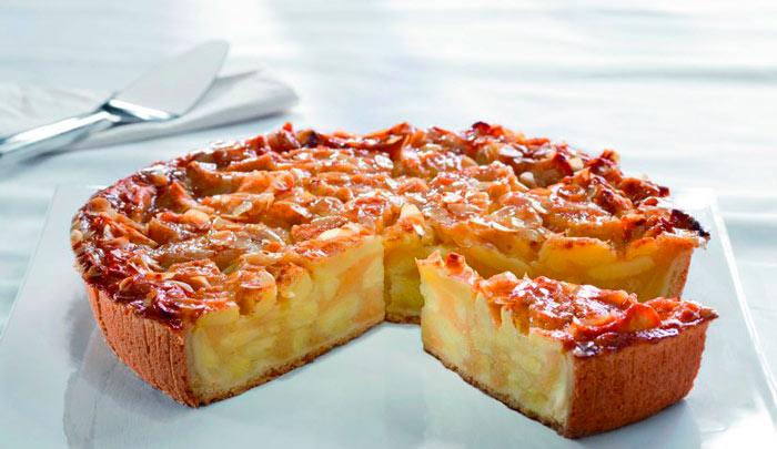 Заливной яблочный пирог (перевертыш)