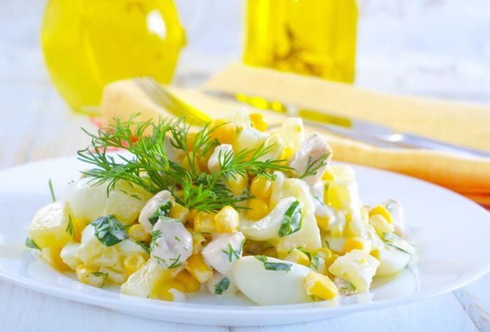 Салатик с сыром