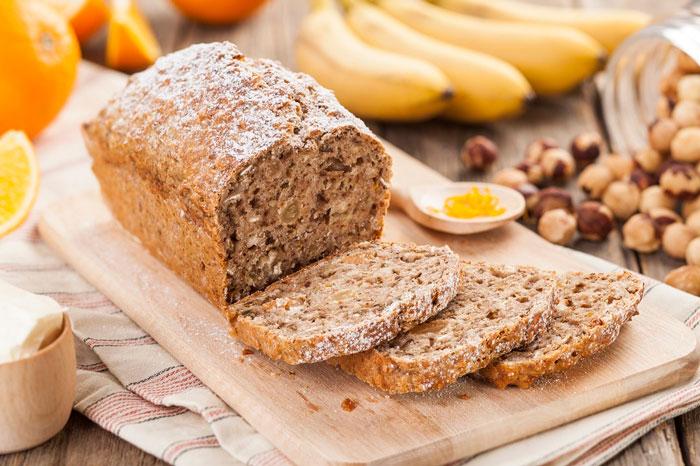 В хлебе содержаться полезные вещества