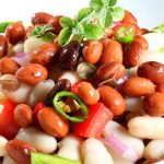 Салат с фасолью без мяса рецепты