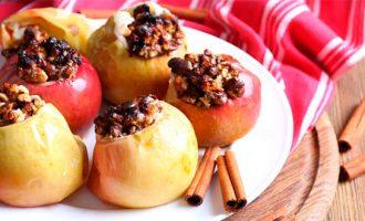 Как приготовить яблоки в микроволновке рецепты