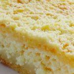 Тертый пирог с творогом рецепты